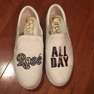 Circus by sam Edelman rose all day white sneakers